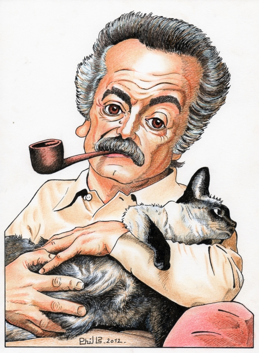 Georges Brassens by PhilLP